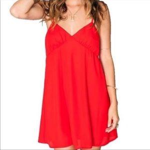 Show Me Your MuMu Red Dress